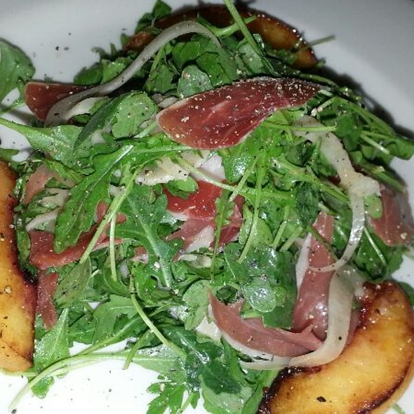 Peach and Proscuitto Salad