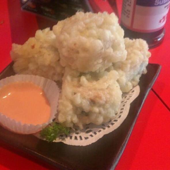 Tempura sushi @ Ginga Sushi Bar & Fusion