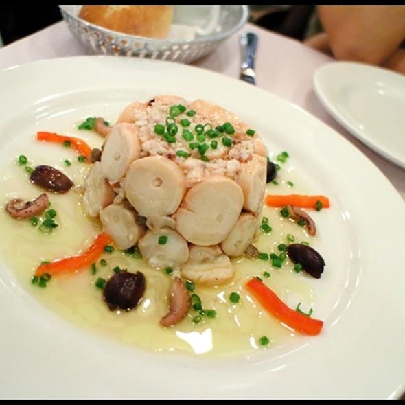 Octopus & Lentil Salad in Vinaigrette @ L'express