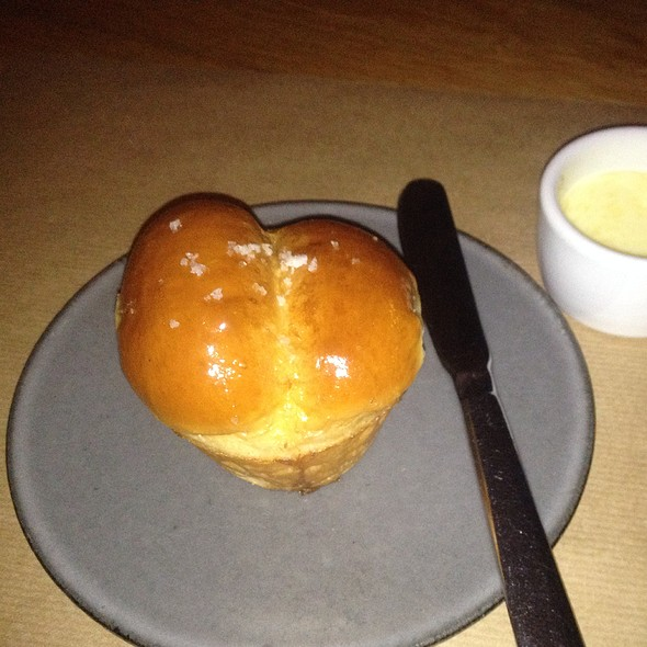 Dinner Roll With Soft Butter - J&G Steakhouse Scottsdale at The Phoenician, Scottsdale, AZ