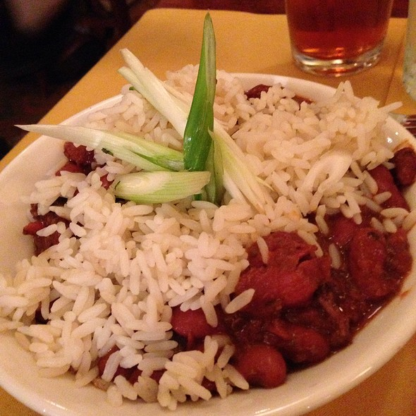 Red Beans and Rice @ Nola On the Square