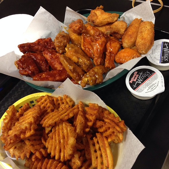 Wings And Waffle Fries @ Wings Over Pittsburgh