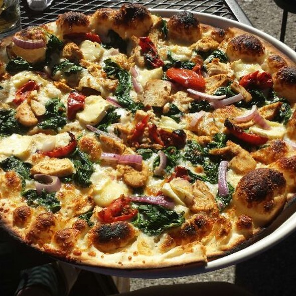 Cajun Chicken And Brie Pizza @ P Za Pie