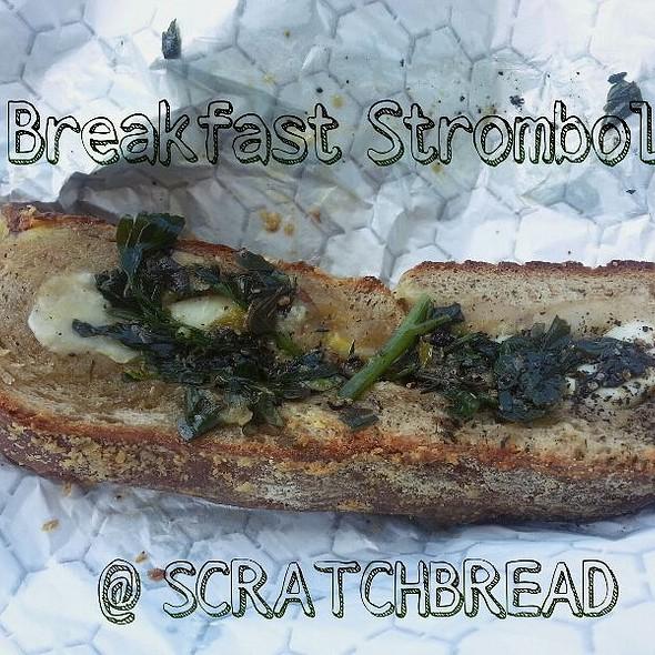 Breakfast Stromboli @ ScratchBread Bakery
