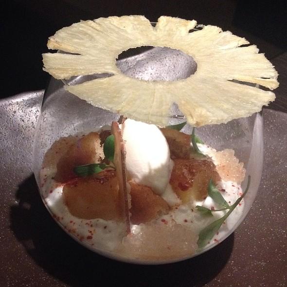 Coconut Tapioca With Pineapple @ Hakkasan Beverly Hills