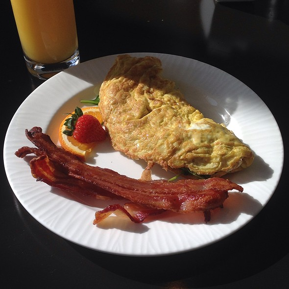Spinach Omlette W/ Bacon