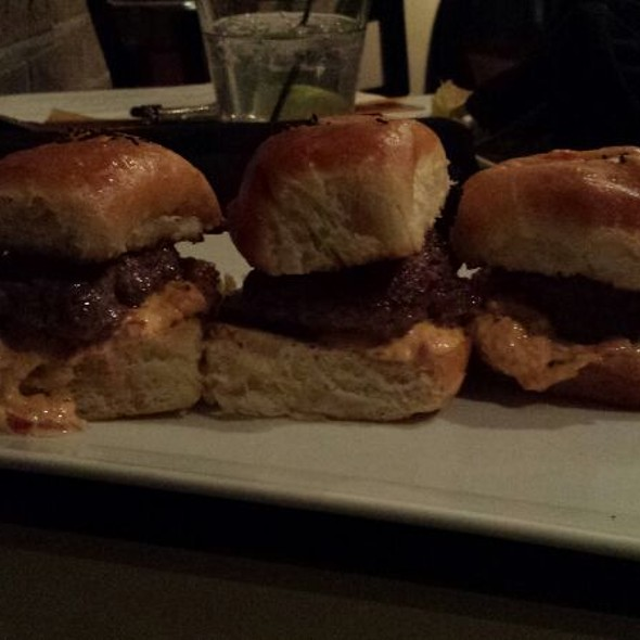 Pimento Cheese Sliders @ Alchemy