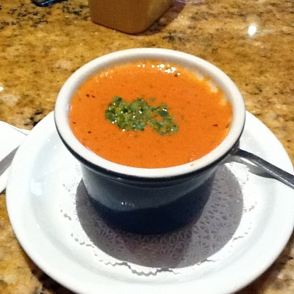 Tomato Bisque And Basil Soup