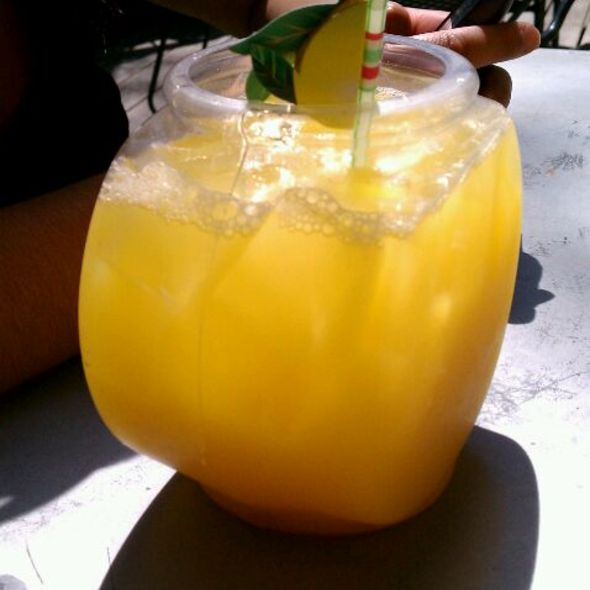 Sunday Fishbowl Mimosas @ Madhatters Tea