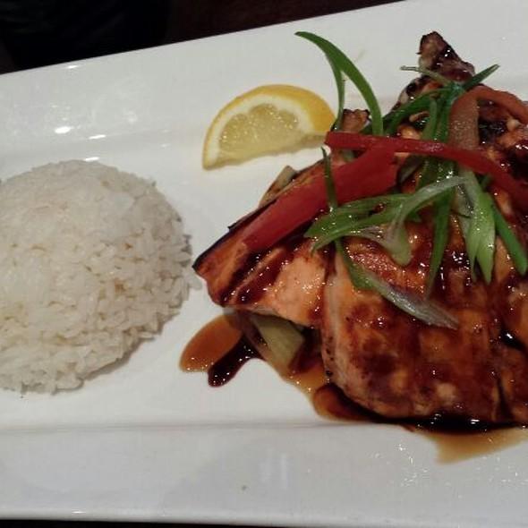 Salmon Teriyaki Combo @ Ozen Sushi