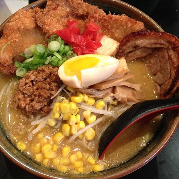 Miso Curry Chicken Katsu Ramen