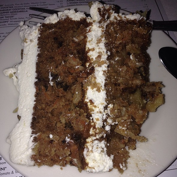 Carrot Cake - Morton's The Steakhouse - Northbrook, Northbrook, IL