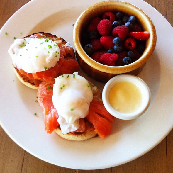 Smoked Salmon Benedict - Pacific Coast Grill - Cardiff, Cardiff-By-The-Sea, CA