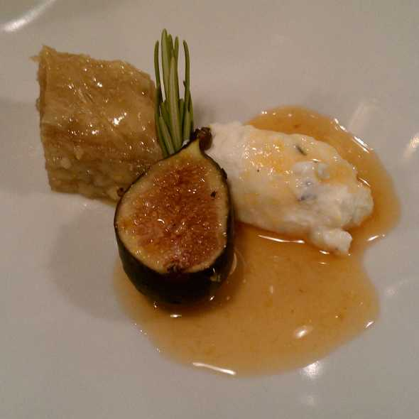 Baklava with Fresh Fig @ Sage Culinary Studio