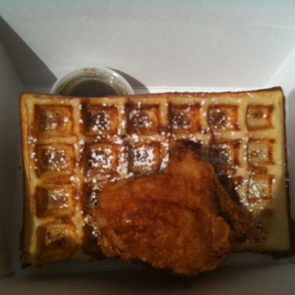 Fried Chicken and Waffles @ Little Skillet