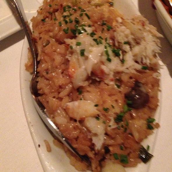 Crab Fried Rice - Eddie V's - 5th Street, Austin, TX