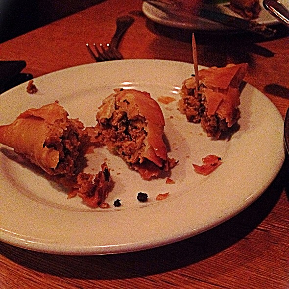 chicken samosas @ London Sizzler Indian Bar & Grill