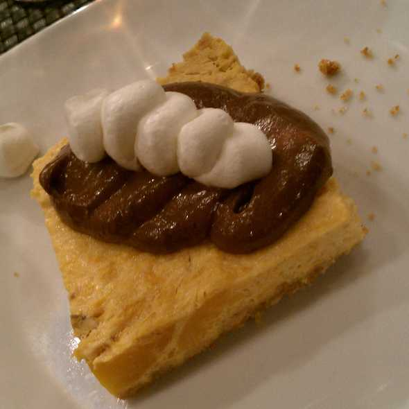 Pumpkin Cheesecake @ Sage Culinary Studio