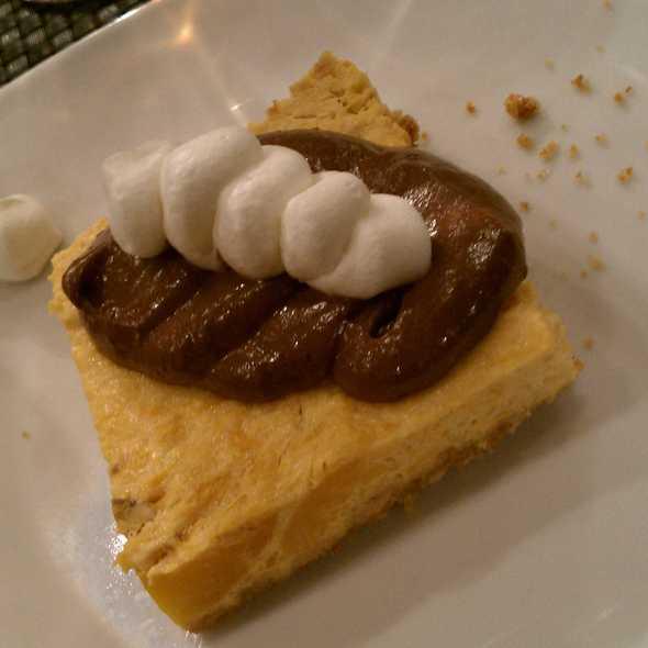 Pumpkin Cheesecake @ Sage Culinary Studio