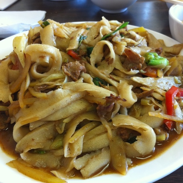 Stir Fried Noodles @ Chen's Noodle House