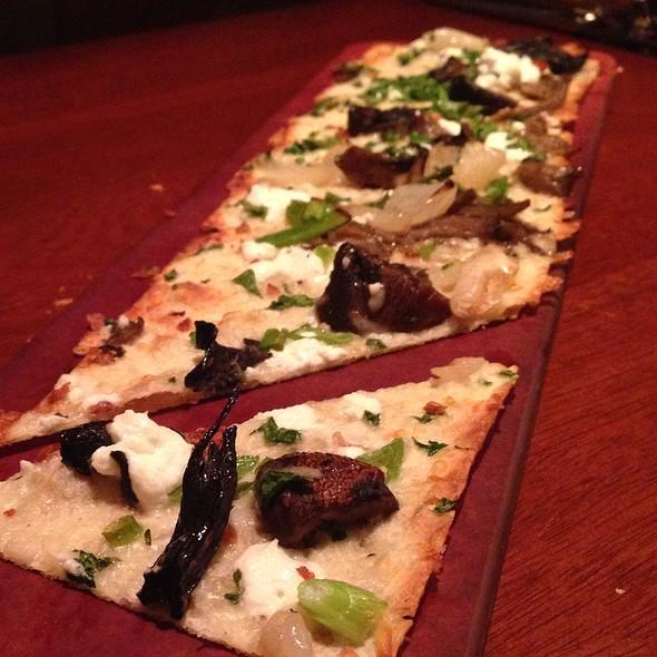 Mushroom, Feta, Olive Oil Flatbread - Seasons 52 - Ft. Lauderdale, Fort Lauderdale, FL