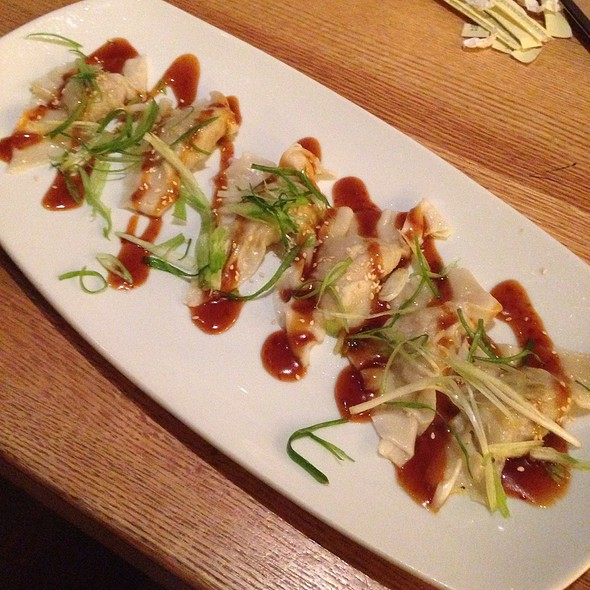 amazing California Pizza Kitchen Cherry Hill #6: Chicken Ginger Dumplings at California Pizza Kitchen
