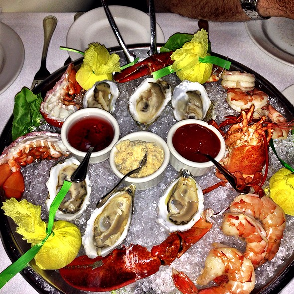 Cold Shellfish Platter - The Capital Grille - Denver, Denver, CO
