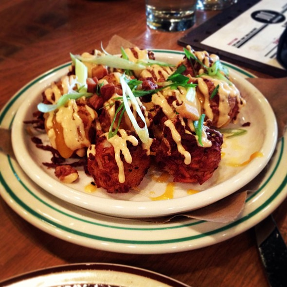 101 Beer Kitchen - Loaded Housemade Tater Tots - Foodspotting