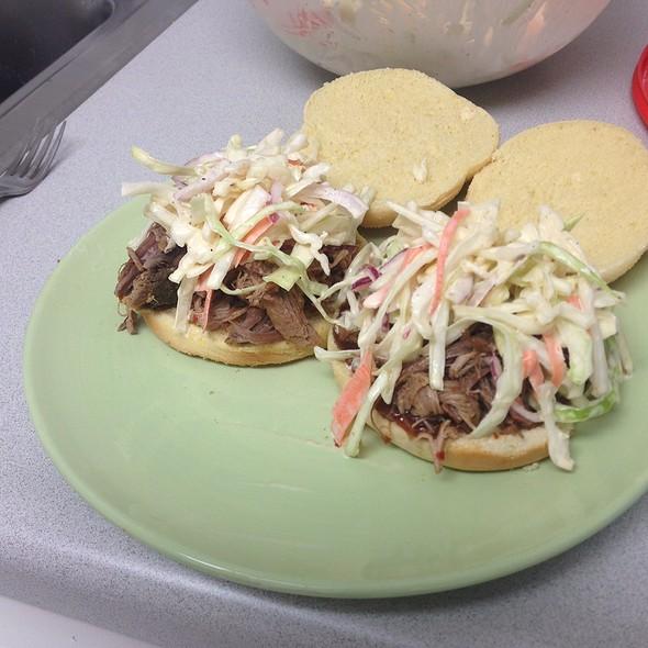 Pulled pork sandwiches @ My New Kitchen
