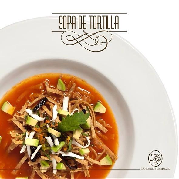 Tortilla Soup @ La Hacienda de los Morales