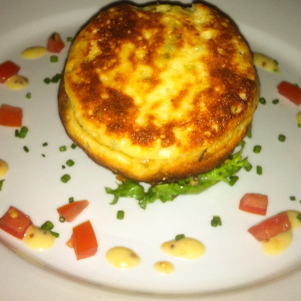 Twice Baked Haddock Soufle At Bishops Dining Rooms And Wine Bar
