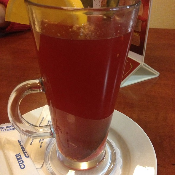 Hot Cranberry Drink @ Hotel Opera