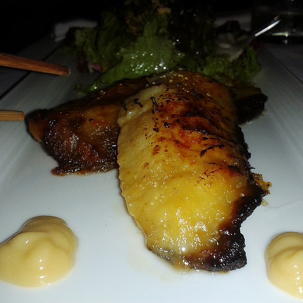 Baked black cod marinated in miso @ Asia Gallery
