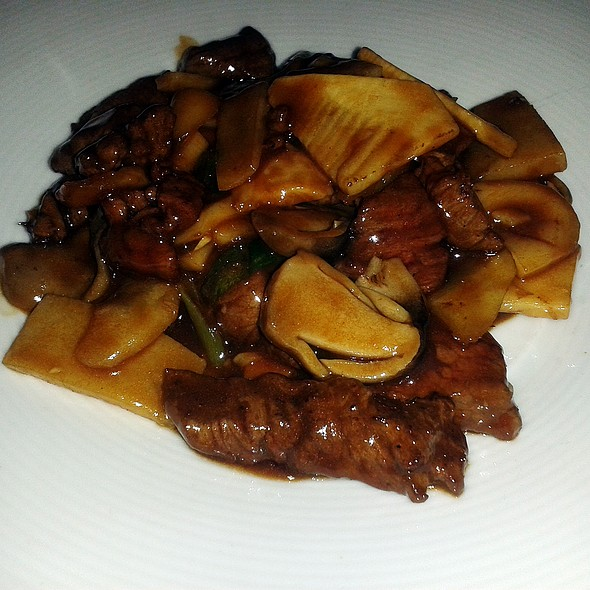 Ox in oyster sauce @ Asia Gallery