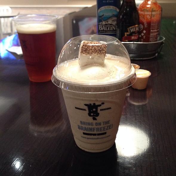 Toasted Marshmellow Milkshake @ Good Stuff Eatery
