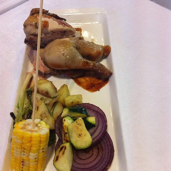 Roasted Chicken @ Woodside Restaurant @ Parkyard Hotel Shanghai