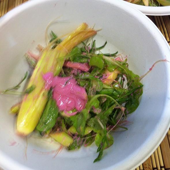 Organic Salad @ Woodside Restaurant @ Parkyard Hotel Shanghai