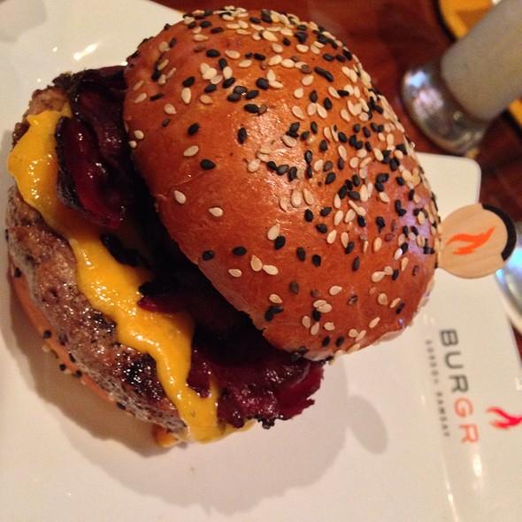 Farm Burger @ Gordon Ramsay BurGR