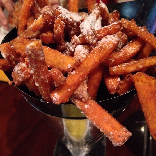 Sweet potato fries @ Gordon Ramsay BurGR