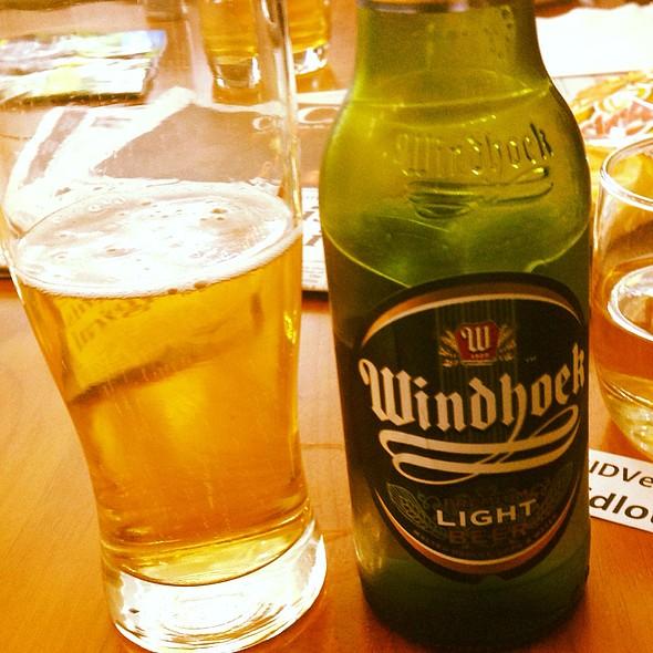 Windhoek Lager Beer @ Cape Town International Airport