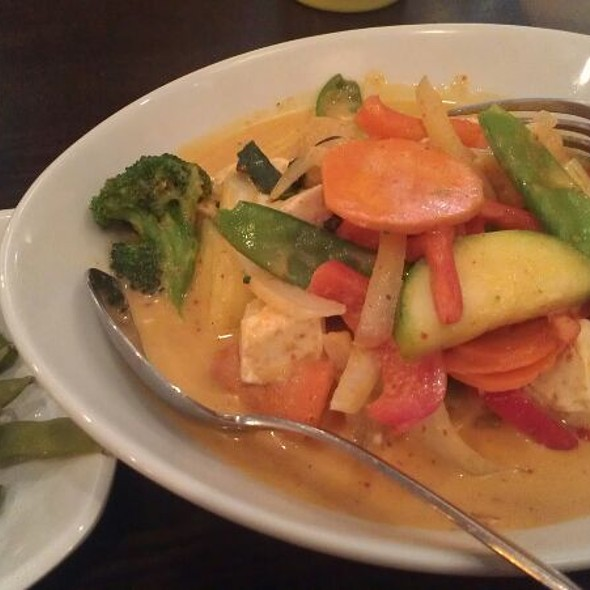 Red Thai Curry With Tofu @ Ginger Exchange Symphony