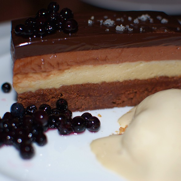 Chocolate Layer Cake @ Gitane