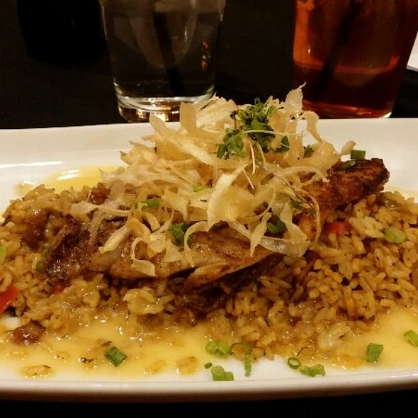 Blackened Catfish with Voodoo Rice - Springs Orleans, Colorado Springs, CO