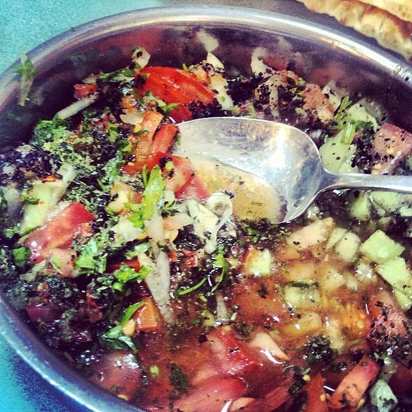 Salata @ Kebapci Halil Usta