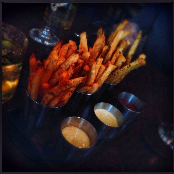 Duck Fat Fries @ Bourbon Steak