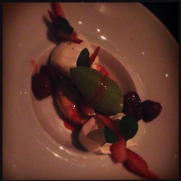 strawberry shortcake @ Bourbon Steak