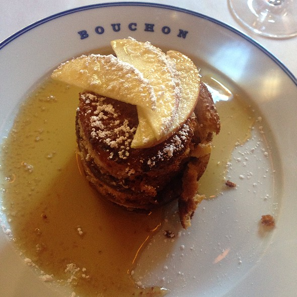 Bouchon French Toast @ Bouchon