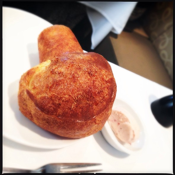 Popovers with Strawberry Butter @ The Rotunda (Neiman Marcus)