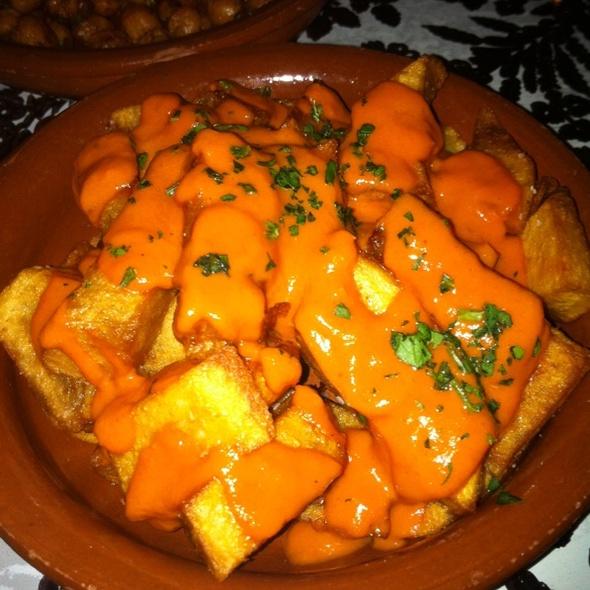 Patatas Bravas - Estragon, Boston, MA