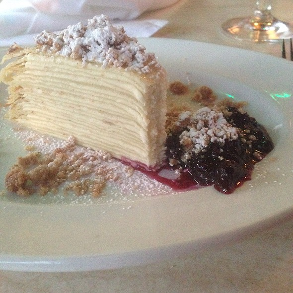 Crepes Layered With Marscarpone - Dario's Brasserie, Omaha, NE